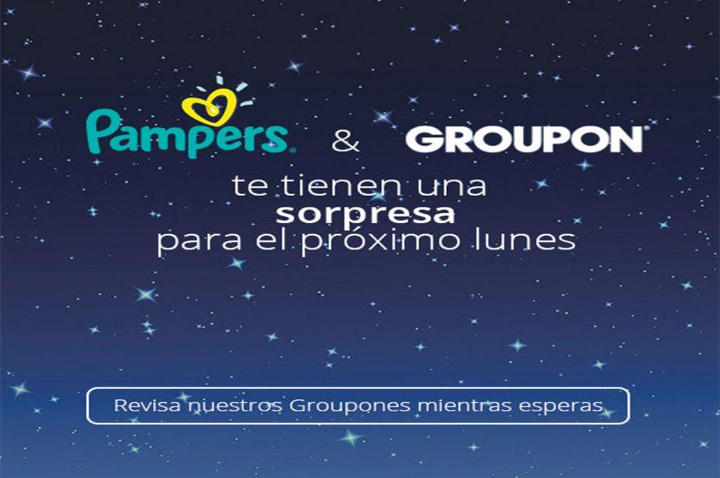 Groupon y Pampers sorprenden con oferta exclusiva