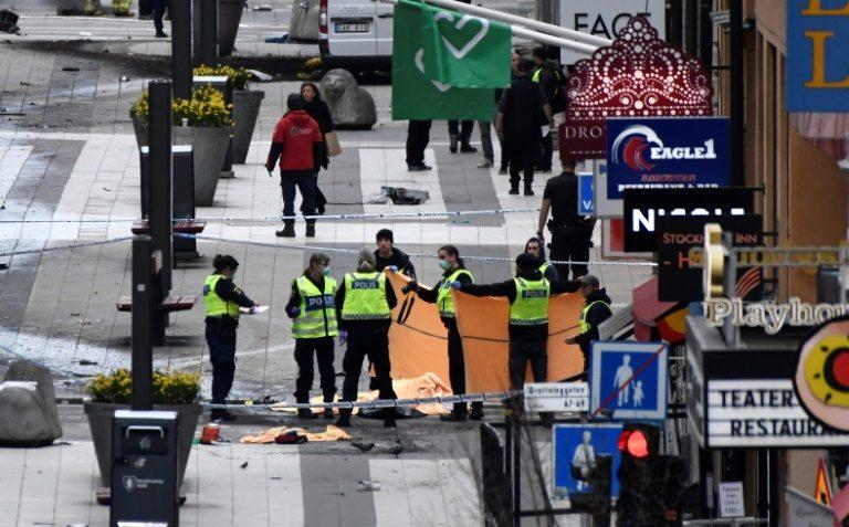 ACTUALIZADO /// Suecia: Cuatro muertos en atentado terrorista en Estocolmo