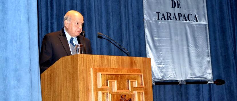 ¿Insulza candidato a parlamentario en el norte? En la U. de Tarapacá pidió mejorar condiciones para comercio boliviano