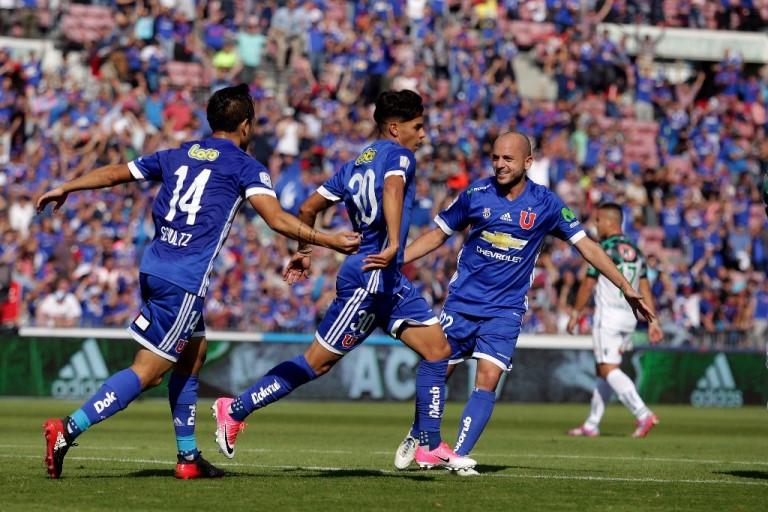 U de Chile vence a Wanderers y caza a Colo Colo en la cima de la tabla