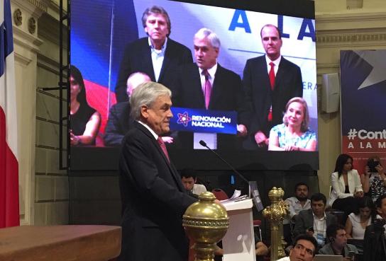 """Piñera deja clara su postura: """"Estoy dispuesto a competir hayan o no hayan primarias en la Nueva Mayoría"""""""