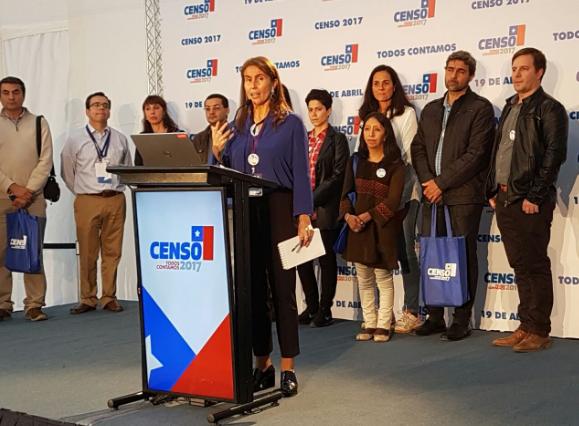 Observadores internacionales destacan organización del Censo 2017 y la respuesta ciudadana