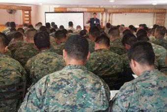 Arica: Soldados del Regimiento Huamachuco se capacitaron para el Censo