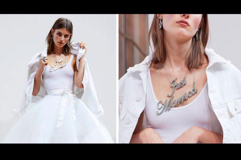 Oscar de la Renta le rinde homenaje a Carrie Bradshaw con vestido de novia