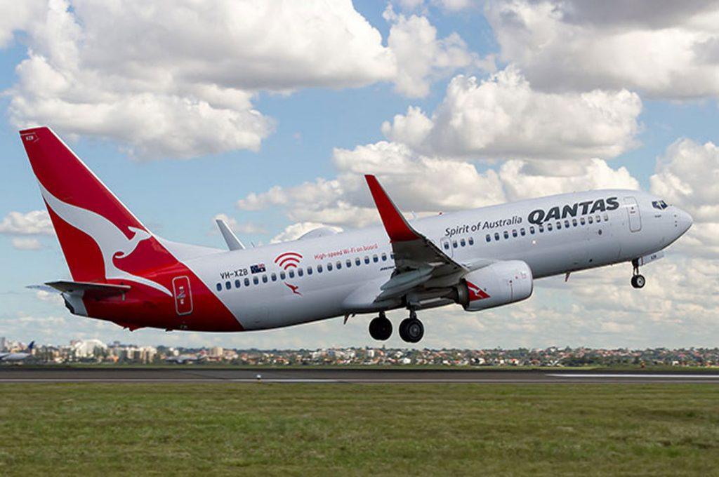 QANTAS lanza WIFI gratuito y de alta velocidad a bordo de sus vuelos