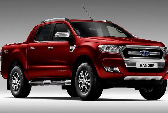 Sernac emite Alerta de Seguridad para camioneta Ford Ranger años 2016-2017