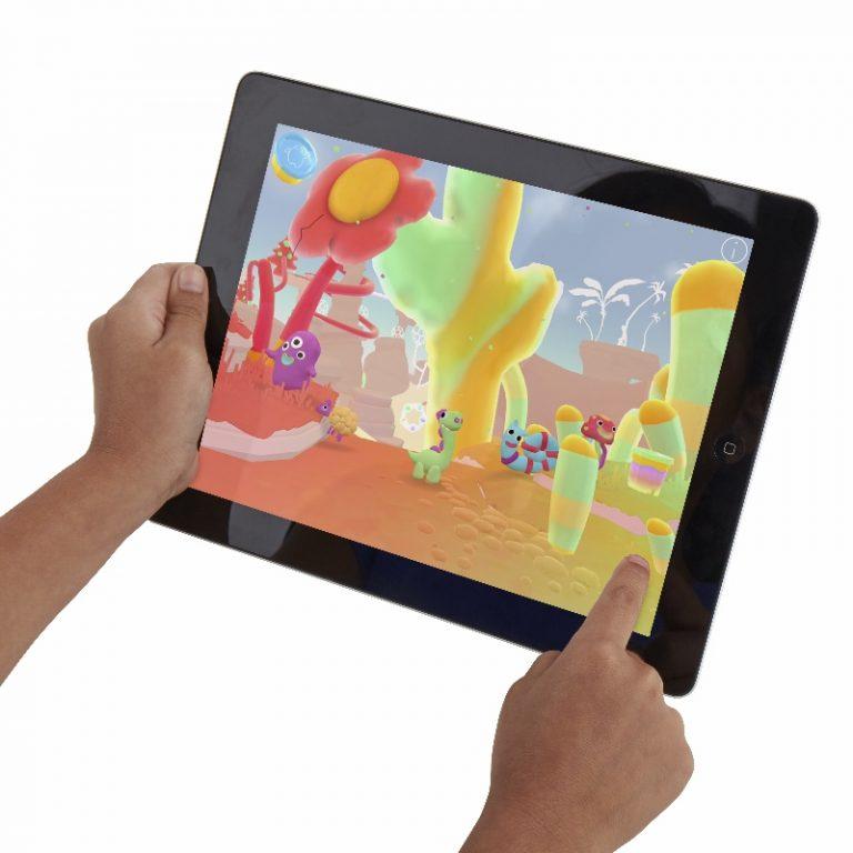 Play-Doh Touch:¡Los niños veran sus propias creaciones animadas con Play-Doh!