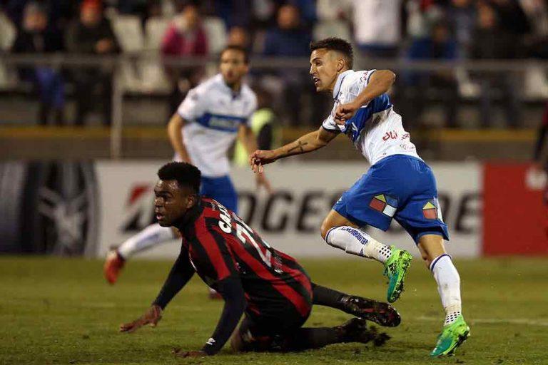 Adiós Copa Libertadores: Universidad Católica luchó, pero cayó ante Atlético Paranaense