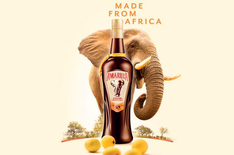 Amarula presenta nueva botella que apoya la conservación de elefantes