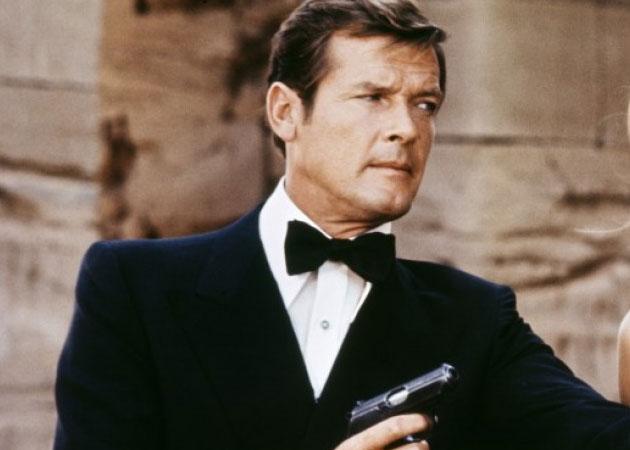 Muere Roger Moore, actor de James Bond y El Santo