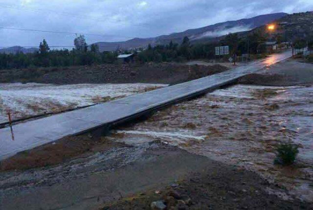 Sistema frontal afecta desde Copiapó al centro del país: Fuerte lluvia aumenta caudales y genera diversos problemas en ciudades