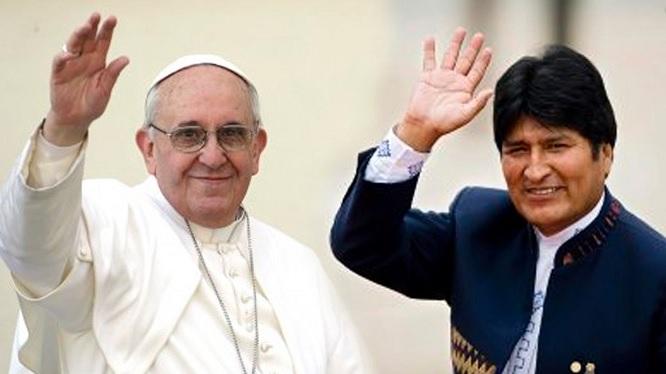 Evo Morales le pide al Papa Francisco intervenir por los nueve bolivianos detenidos en Chile