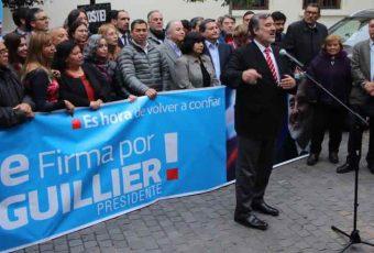 """Guillier golpea la mesa y logra """"cuadrar"""" a partidos para apoyar proyecto de elección de intendentes"""