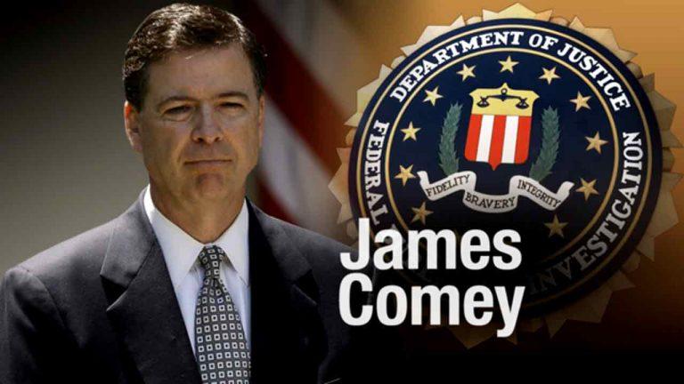 Otro Trump-azo da de baja al director del FBI, James Comey