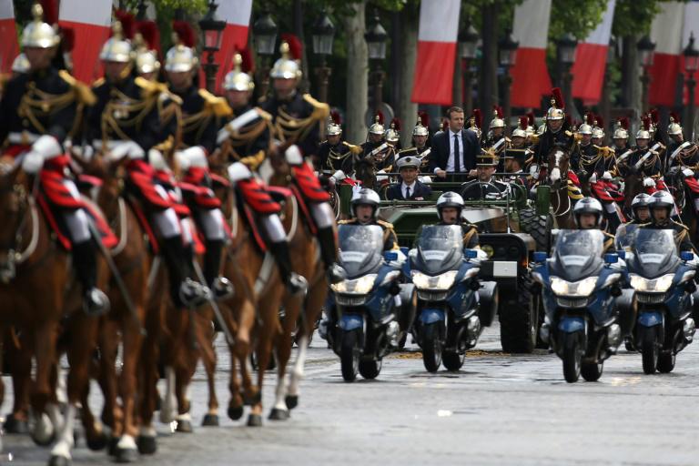 Francia-Rusia: Este lunes, en París, Macron recibe a Putin