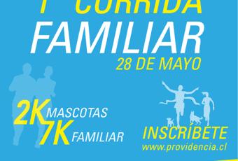 """En Mes Aniversario, Providencia realiza """"Primera Corrida Familiar"""" este 28 de mayo"""