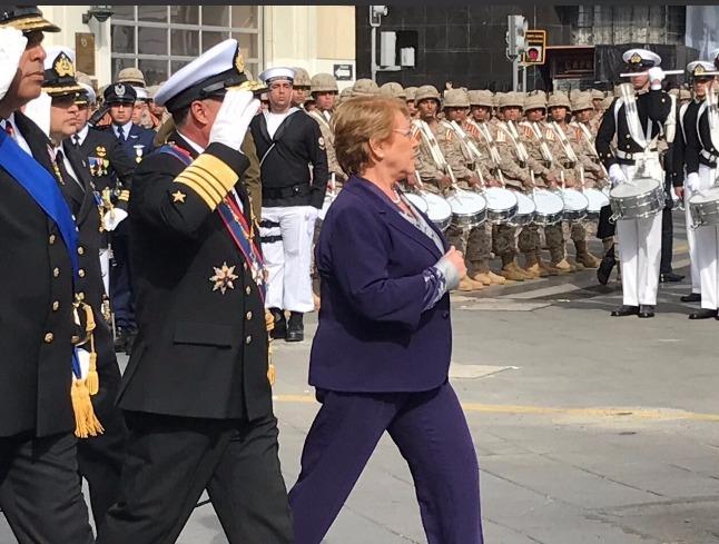 Mandataria participa en 138° aniversario del Combate Naval de Iquique y de las Glorias Navales