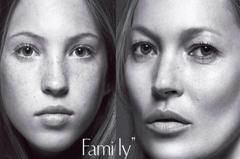 La hija de Kate Moss debuta en su primera campaña de moda