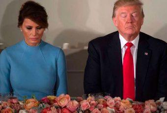 Las reacciones de la primera dama de Estados Unidos que están dando que hablar