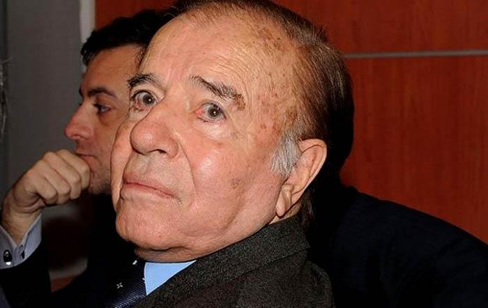 Condenan a Carlos Menem a 7 años de cárcel por contrabando de armas a Croacia y Ecuador