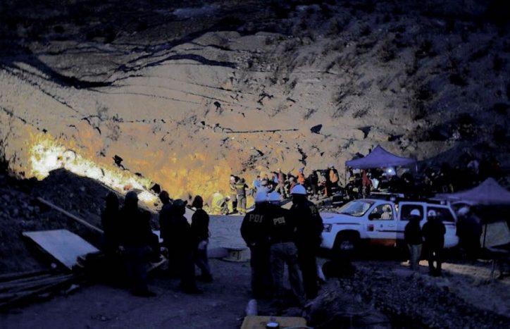 """Gobernadora de Chile Chico por mineros atrapados: """"Hemos puesto a disposición de la empresa todos nuestros recursos para tomar acciones a la brevedad"""""""