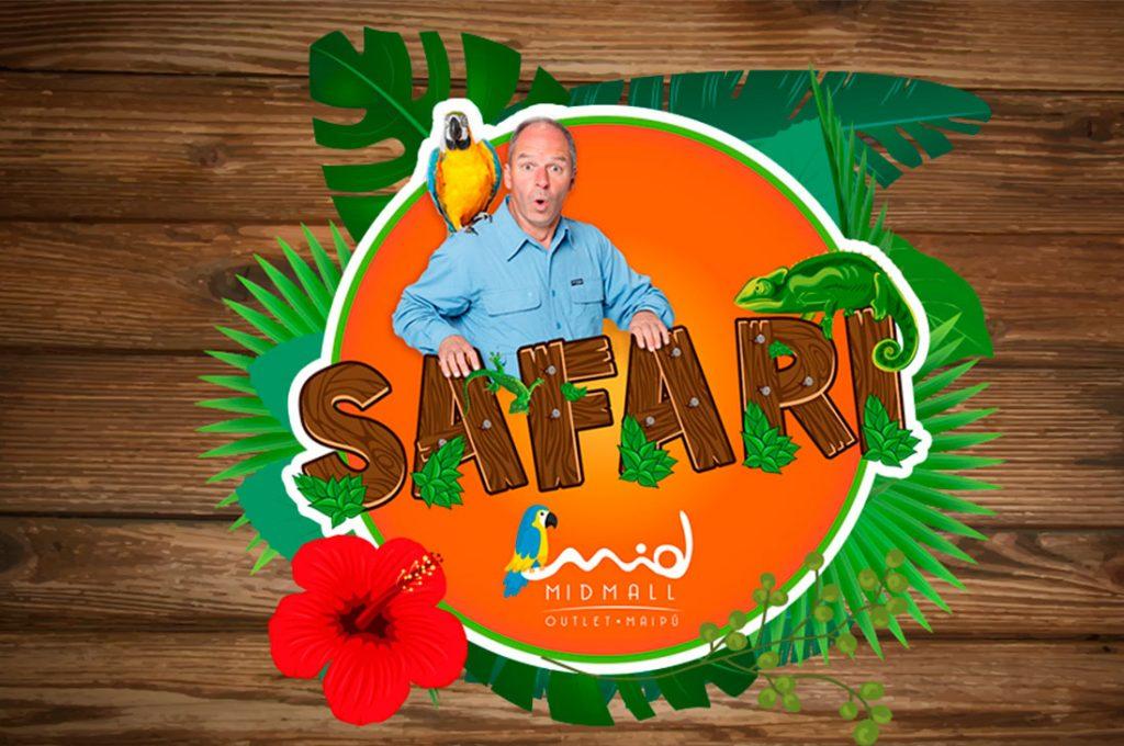 Gran Safari animal sorprende en Midmall Outlet Maipú