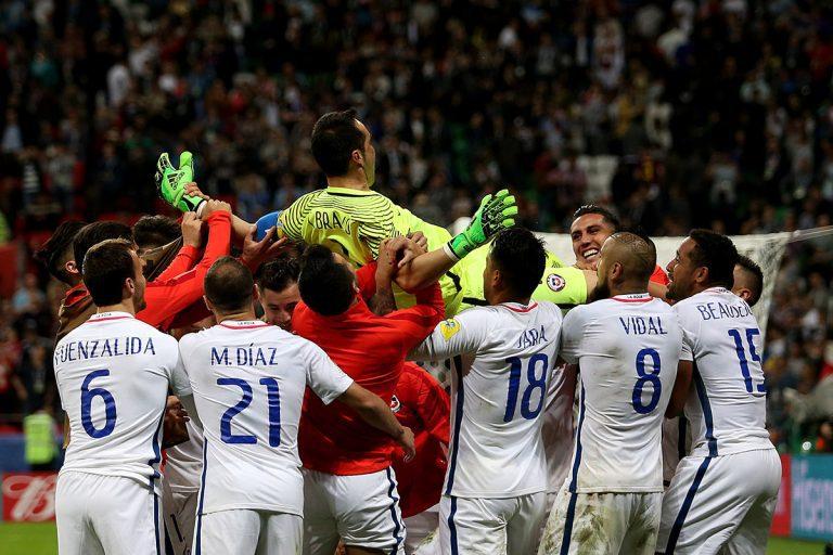 Bravo por 3: Chile vence a Portugal y disputará la final de la Copa Confederaciones