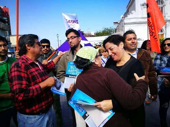 Bea Sánchez visita este martes Ancud