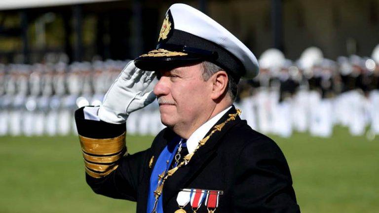 (VIDEO) El nuevo sello del almirante Leiva como comandante en jefe de la Armada