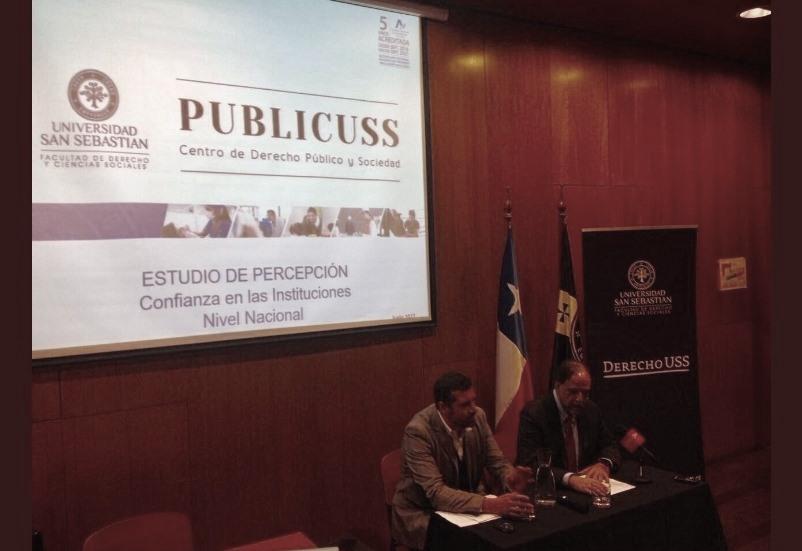 Se agudiza la desconfianza de los chilenos en 27 instituciones: Los partidos políticos son los peor evaluados
