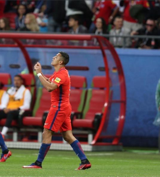 Alexis bate un nuevo récord: Ahora se convierte en el máximo artillero de la selección
