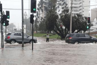 Sistema frontal mantiene alerta temprana preventiva en regiones de Valparaíso y O'Higgins