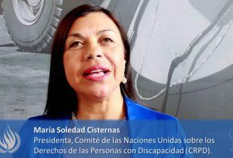 ONU nombra a chilena María Soledad Cisternas como Enviada Especial sobre Discapacidad y Accesibilidad