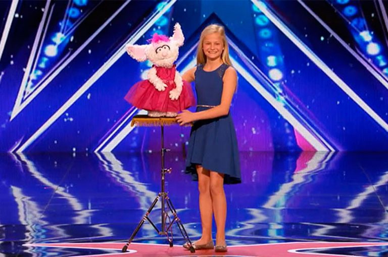 """VIRAL: Actuación de niña ventrílocua en """"America's Got Talent"""""""