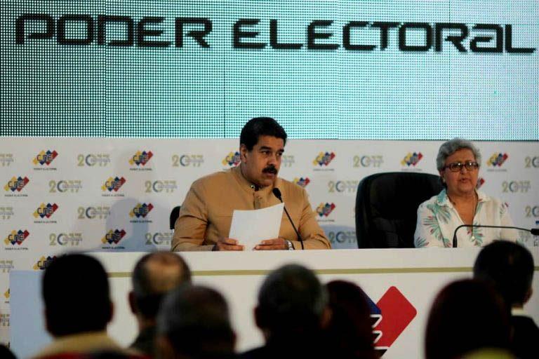 """Maduro y triunfo del la ANC: """"Acepto la voluntad heroica del pueblo de Venezuela"""""""