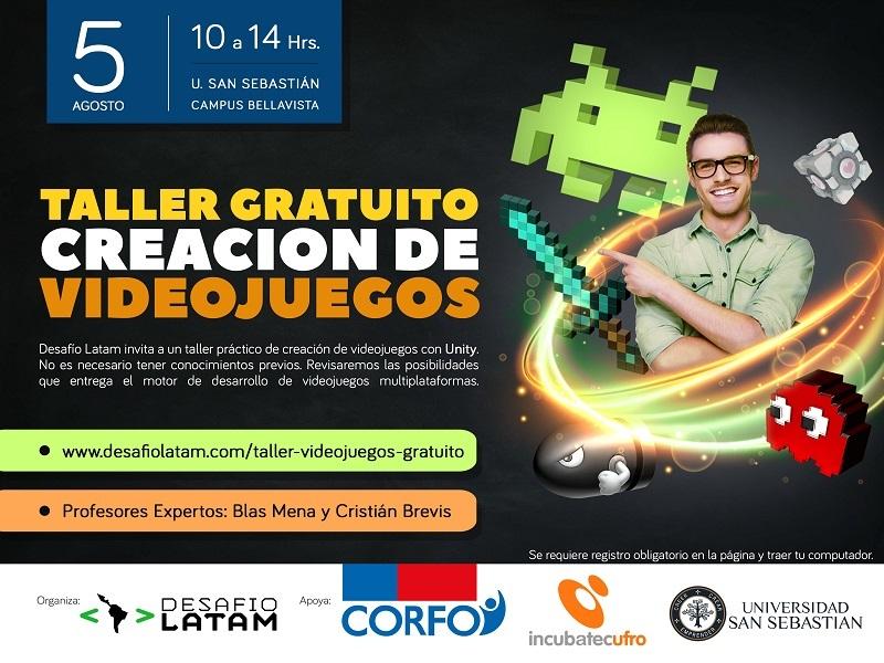 Lanzan taller gratuito de creación de videojuegos
