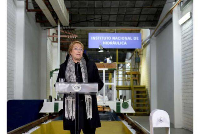 "Presidenta asegura que: ""Chile se está preparando para hacer frente al cambio climático"""