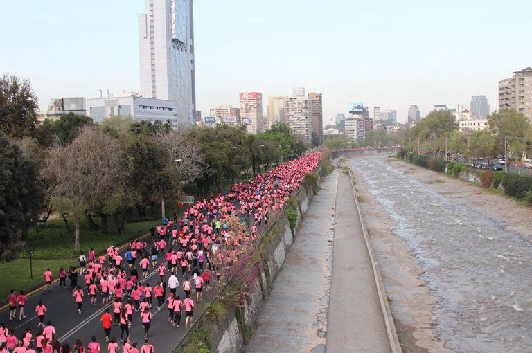 Corrida contra el cáncer de mama Avon-Falp