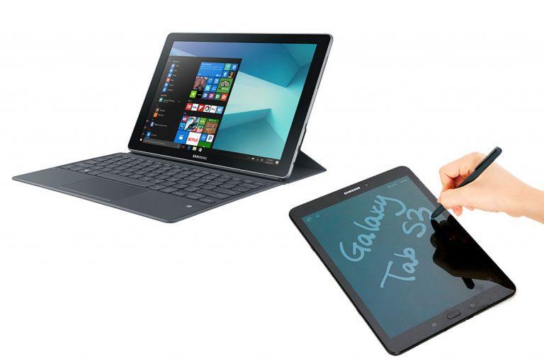 Samsung presenta su portafolio de productos portables: Galaxy Book y Galaxy Tab S3
