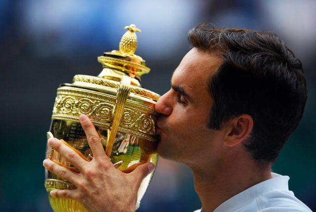 Roger Federer hace historia al ganar su octavo título en Wimbledon