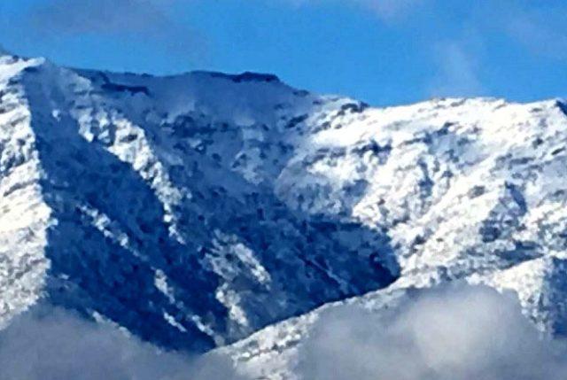 Alerta Meteorológica: Vientos de hasta 90 Km. para Antofagasta, mínimas de hasta -5 entre Valparaíso a Biobío y -13 para Aysén
