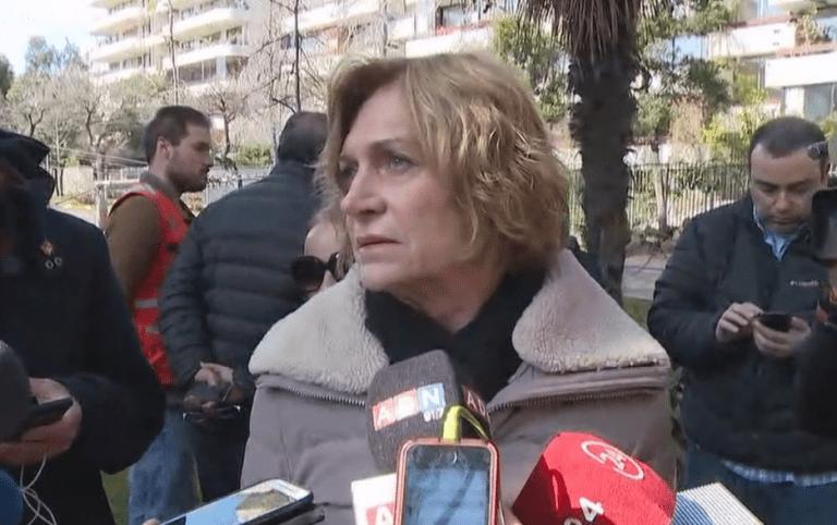 """Alcaldesa Matthei raya la cancha: """"El corte de los árboles para que puedan pasar los cables entremedio, le corresponde a Enel"""""""