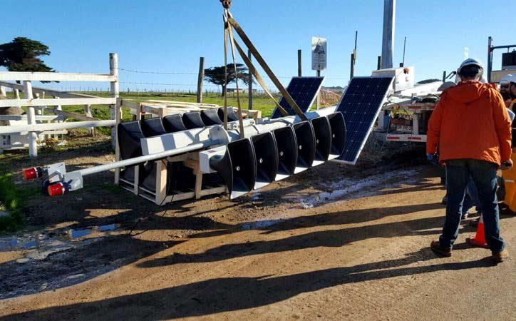 Instalan alarmas de Tsunami en comunas costeras de Región de O'Higgins
