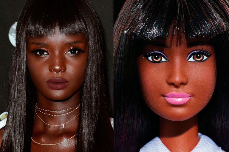 Modelo de color es igual a una Barbie sufrió bullying y hoy triunfa en las redes sociales