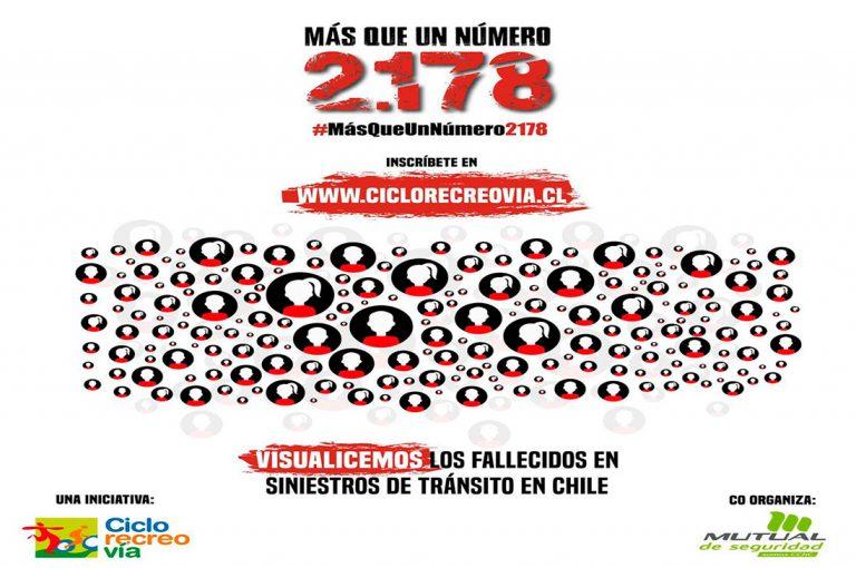 Intervención Urbana:  #MásQueUnNúmero2178