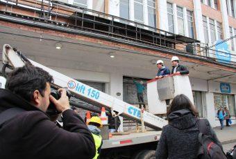 Valdivia: Retiran más de 5 mil metros de cables en el centro de la ciudad fluvial