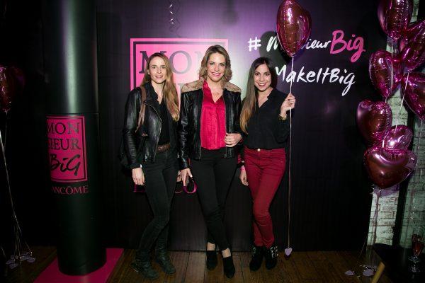Colette Brant, Tere Irarrazabal y Natalia Álvarez