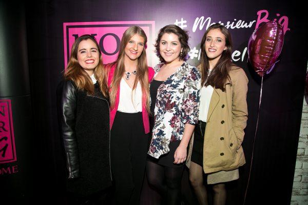 Daniella Sciarresi, Konstanze Hahn, Javiera Rojas y Fernanda Jauregui