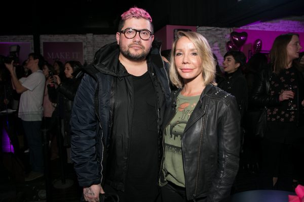 Marcelo Bhanu y Carla Gacic