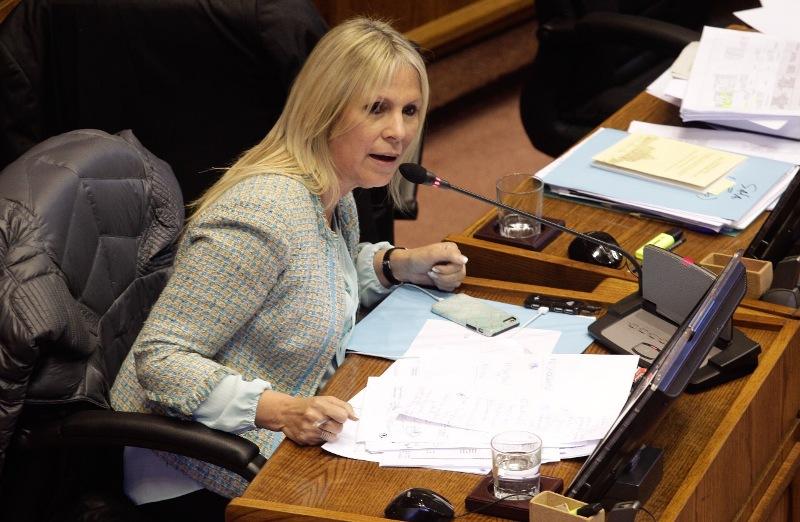 """Senadora Lily Pérez y fallo del TC: """"Estoy satisfecha con la decisión (…) esto hace justicia a nuestras mujeres"""""""